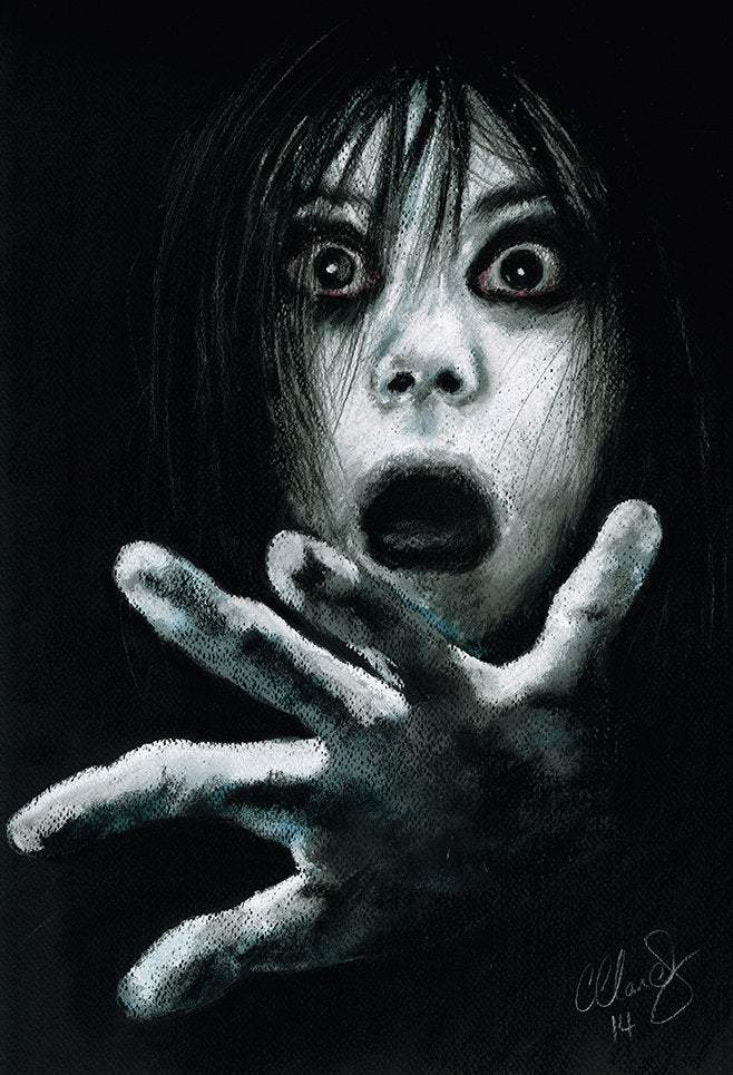 THE GRUDGE -  Horror Art Pack - ChantalLauraHandley