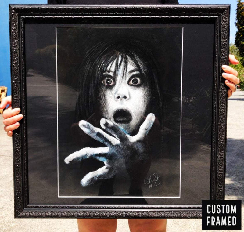 THE GRUDGE - Original Pastel Artwork ORIGINAL ARTWORK ChantalLauraHandley