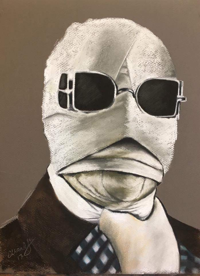 THE INVISIBLE MAN - Art Print - ChantalLauraHandley