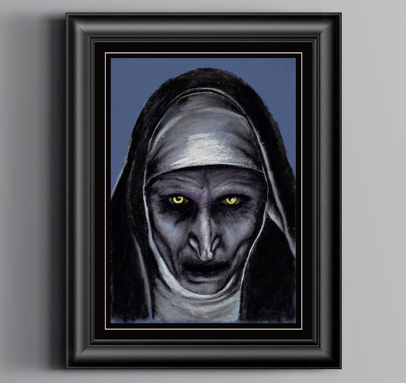THE NUN - Art Print ART PRINT ChantalLauraHandley