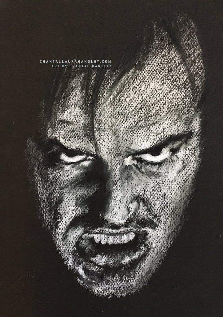 THE SHINING - Jack Torrance - Art Print ART PRINT ChantalLauraHandley