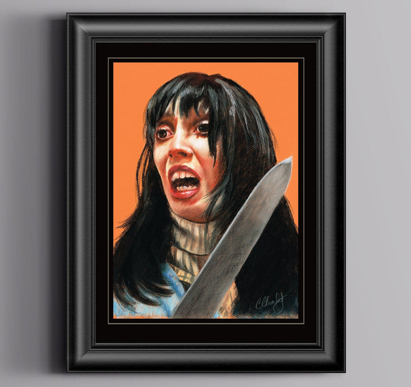 THE SHINING - Original Pastel Artwork - ChantalLauraHandley