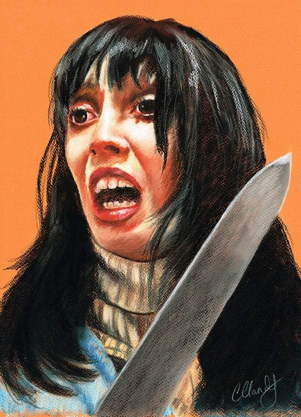 THE SHINING - Original Pastel Artwork ORIGINAL ARTWORK ChantalLauraHandley
