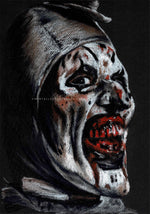 THE TERRIFIER - Art Print - ChantalLauraHandley