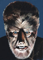 THE WOLFMAN - Lon Chaney Jnr - Art Print ART PRINT ChantalLauraHandley