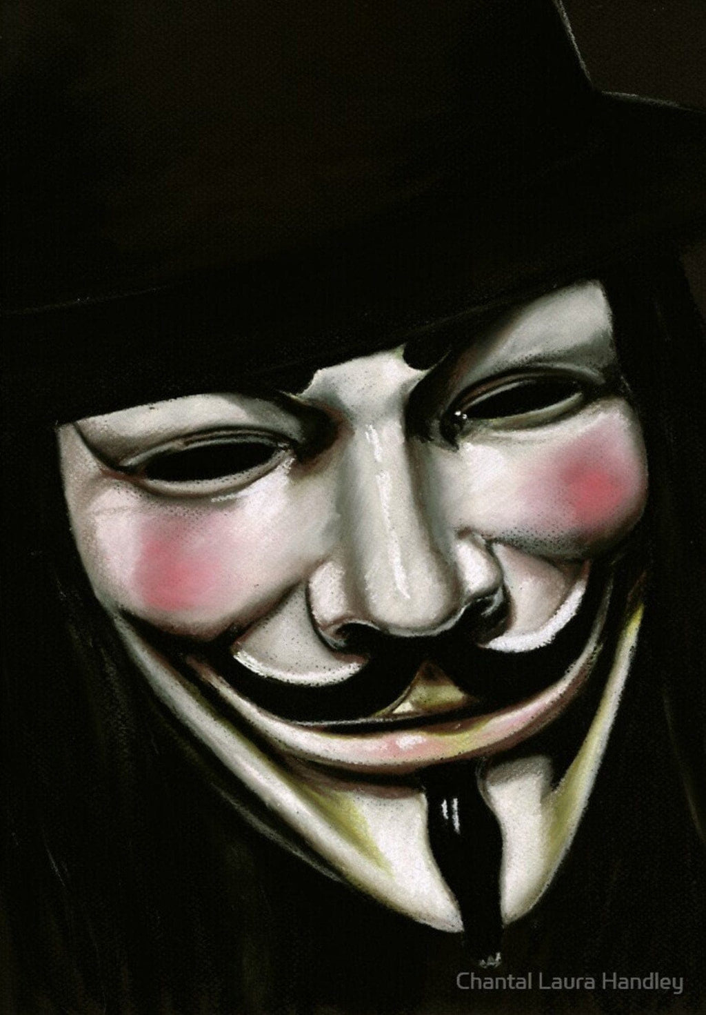 V FOR VENDETTA - Art Print ART PRINT ChantalLauraHandley