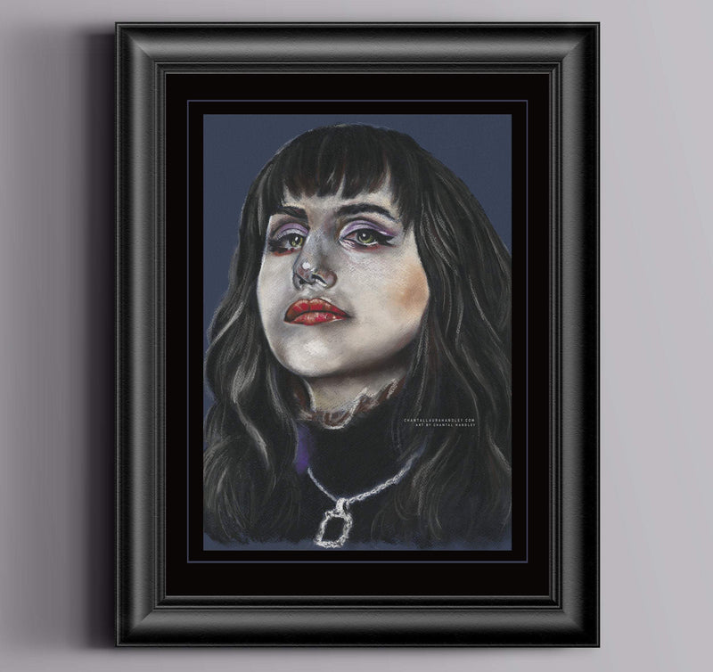 WHAT WE DO IN THE SHADOWS - Nadja. - Original Pastel Artwork ORIGINAL ARTWORK ChantalLauraHandley
