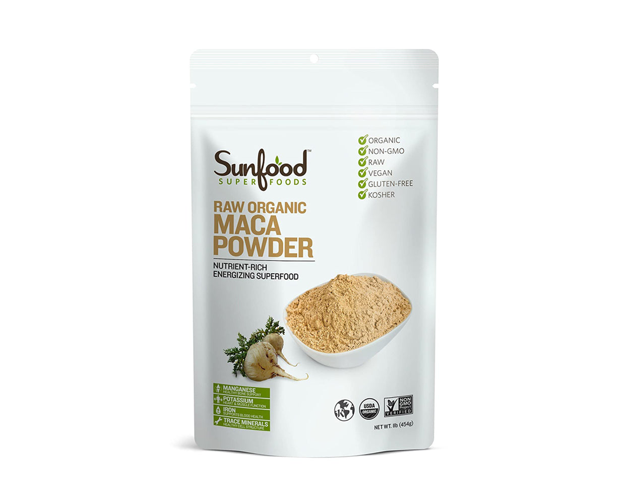 Maca Powder, 1lb, Organic, Raw