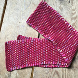 Window Pane Scarf (Knit)