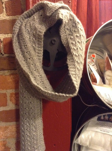 Grey February Scarf (Knit)
