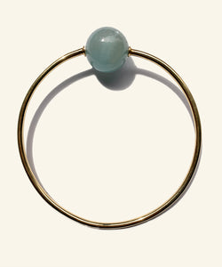 Aquamarine Arm ring