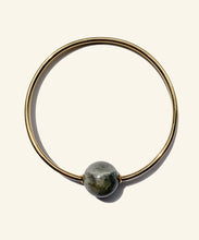 Load image into Gallery viewer, Grey Labradorite Arm ring