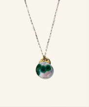 Load image into Gallery viewer, Ocean Jasper Medallion Necklace