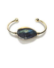 Load image into Gallery viewer, SEEKER Labradorite cuff