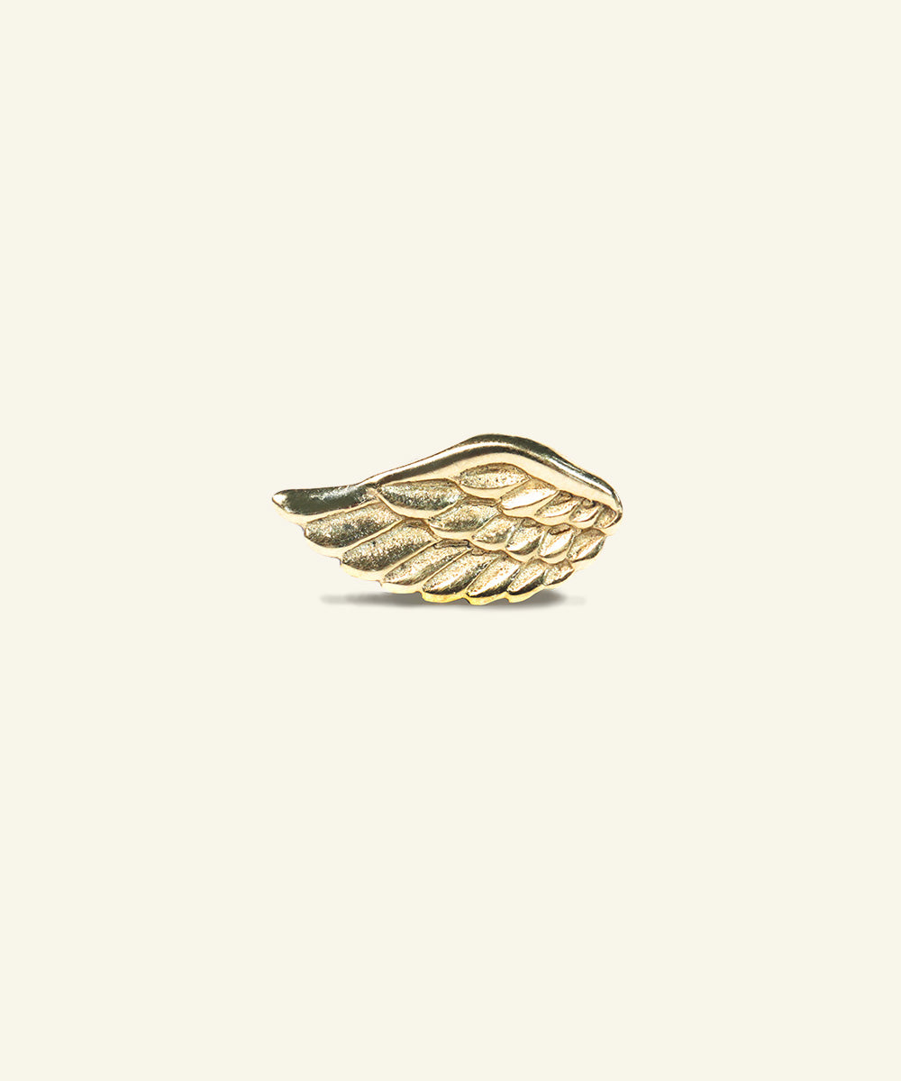 Gold Wing Earring
