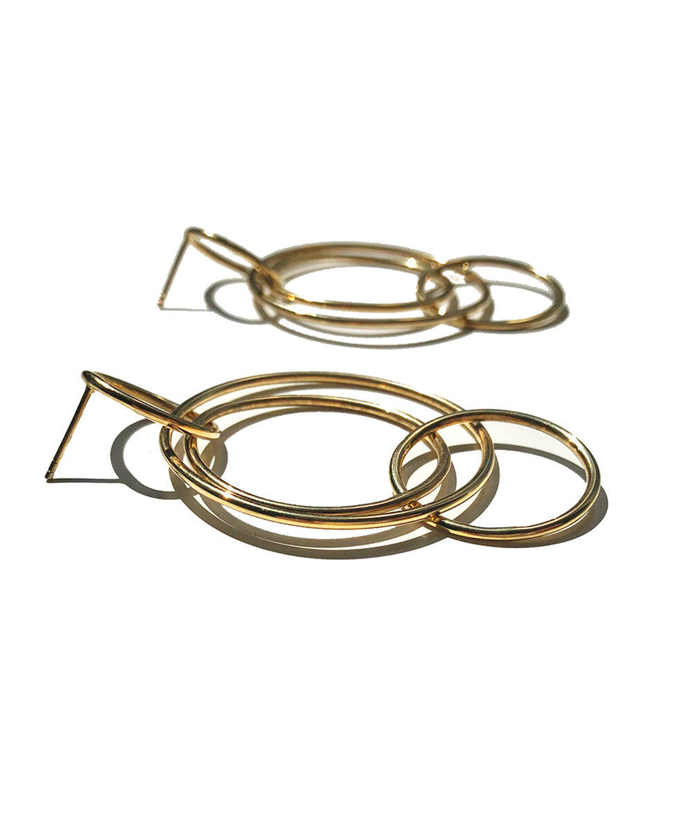 Galactic Gold Hoops