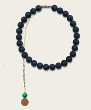 Load image into Gallery viewer, Mat Onyx Necklace