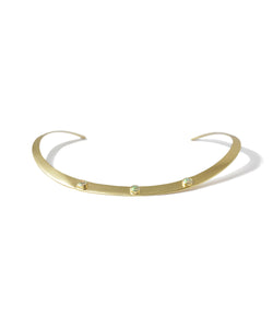 Opal Gold Neck Ring
