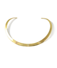 Load image into Gallery viewer, Opal Gold Neck Ring