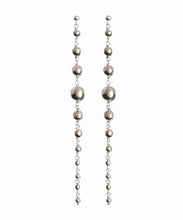Load image into Gallery viewer, Align Silver bauble earrings