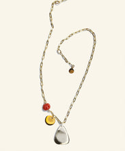 Load image into Gallery viewer, Silver  Bell Charm Necklace