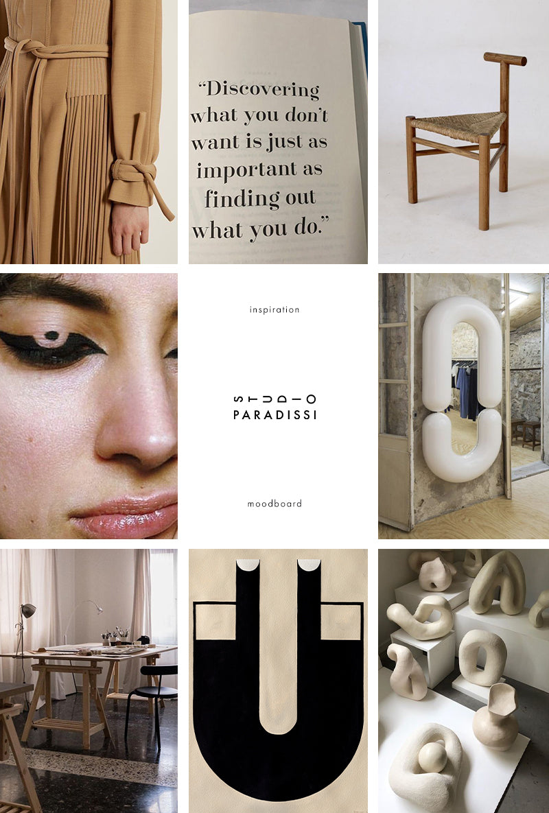 Inspiration Moodboard curated by Studio Paradissi