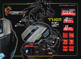 DragonWar Thor USB Optical Gaming Mouse