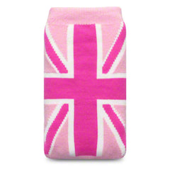 Tech Sock Pink Union Jack