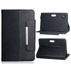 "7"" Universal Tablet Case with Magnetic Closure (Black)"