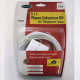 Belkin D.I.Y Phone Extension Kit For Telephone Lines 15m
