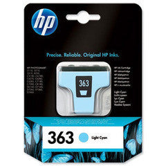HP 363 Light Cyan Original
