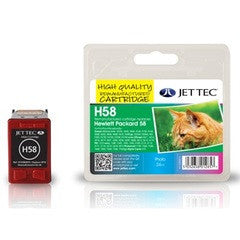 HP 58 Photo Colour Jettec Compatible