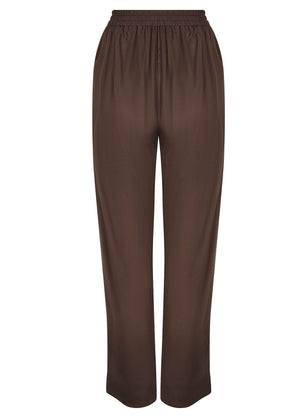Relaxed Fit Trousers Bark