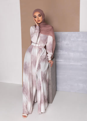 Blush Dust Maxi Dress Aab