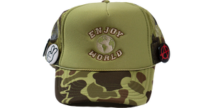 Enjoy Logo Trucker (Camo)