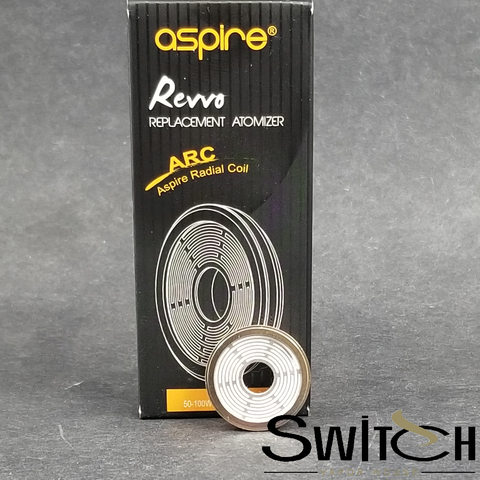 Aspire Revvo ARC Coil replacement