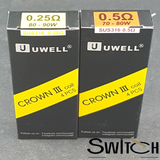 Crown III Coil Replacement by Uwell