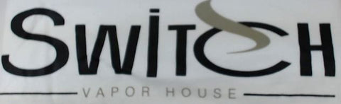 Switch Vapor House T-shirt - White