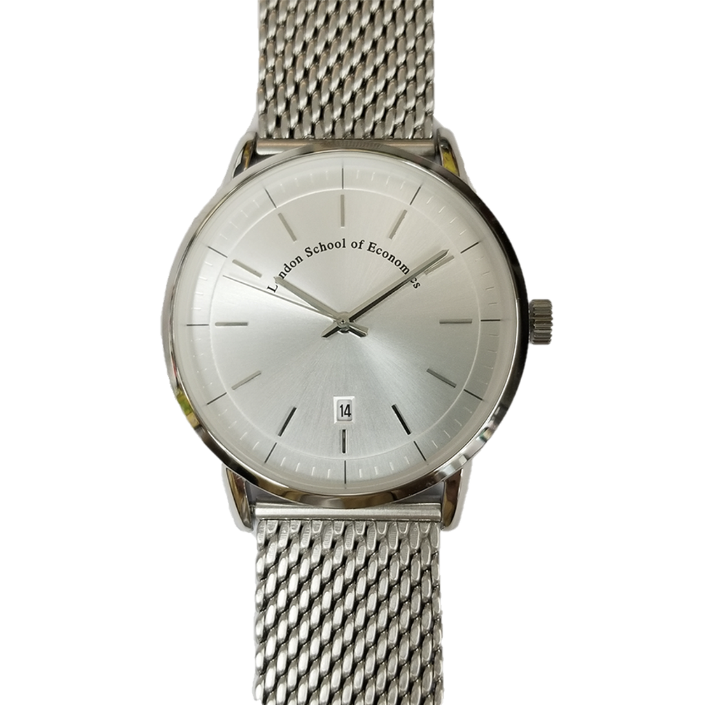 Stainless steel mesh band watch - LSE branded