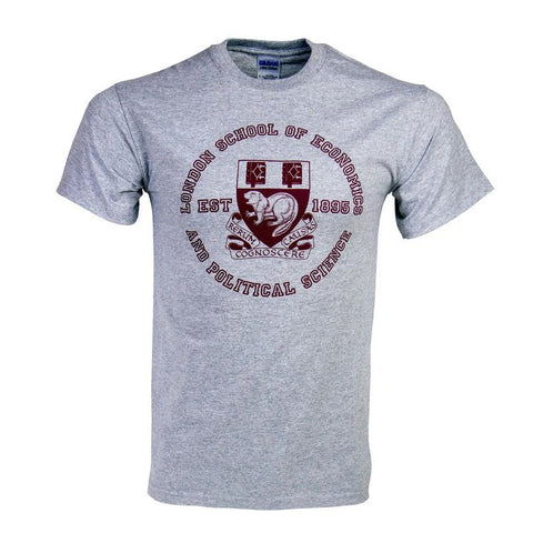 Large Crest T-Shirt Grey