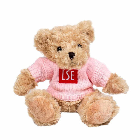 Teddy Bear with Sweater - Pink