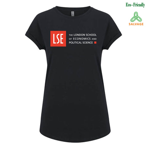 Women's Salvage T-shirt - Black