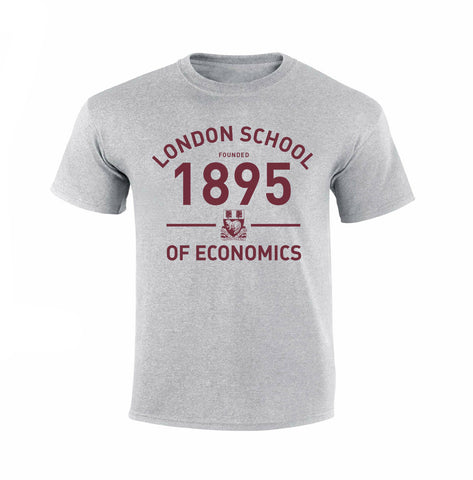 Founded 1895 T-Shirt Grey