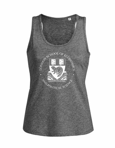 Women's Vest Top Heather Charcoal