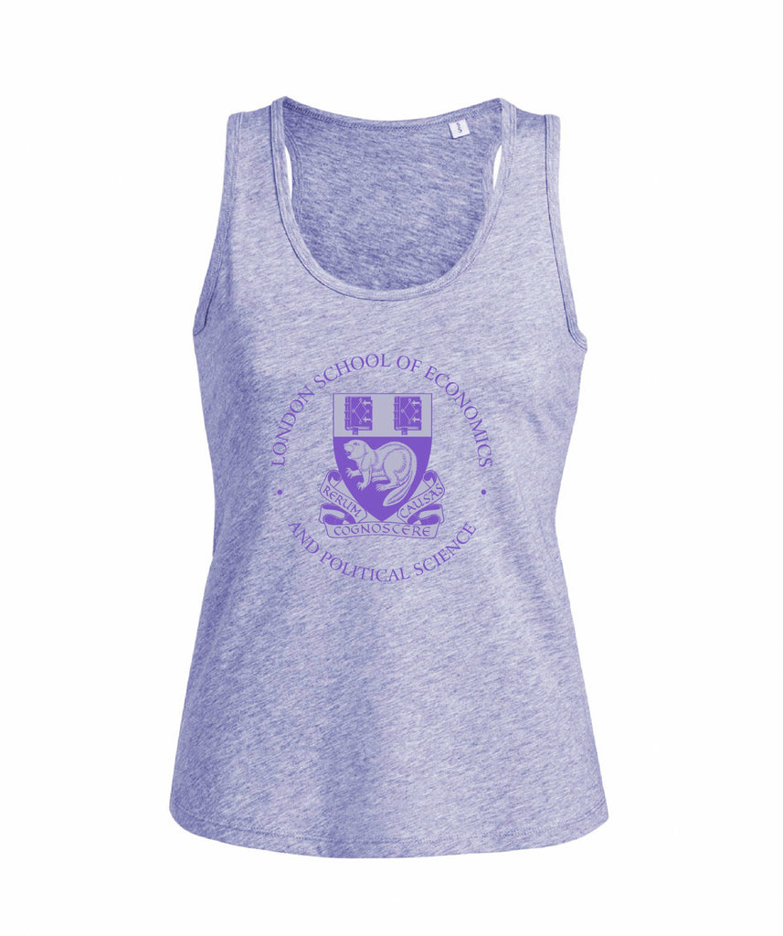 Women's Vest Top Heather Violet
