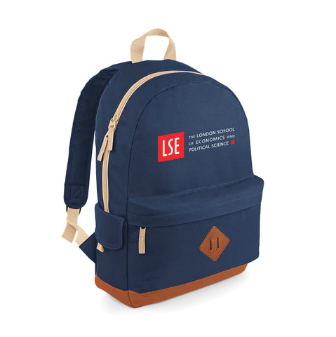 Back Pack Heritage Navy