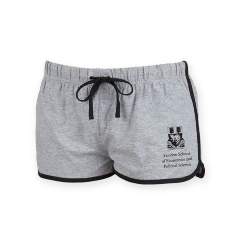 Women's LSE Crest Shorts Grey