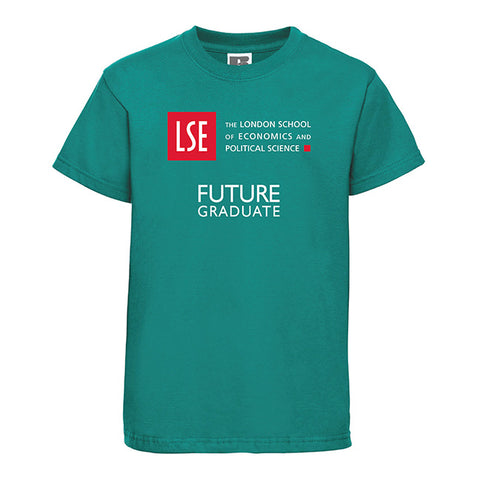 Children's Future Graduate T-Shirt Emerald Green