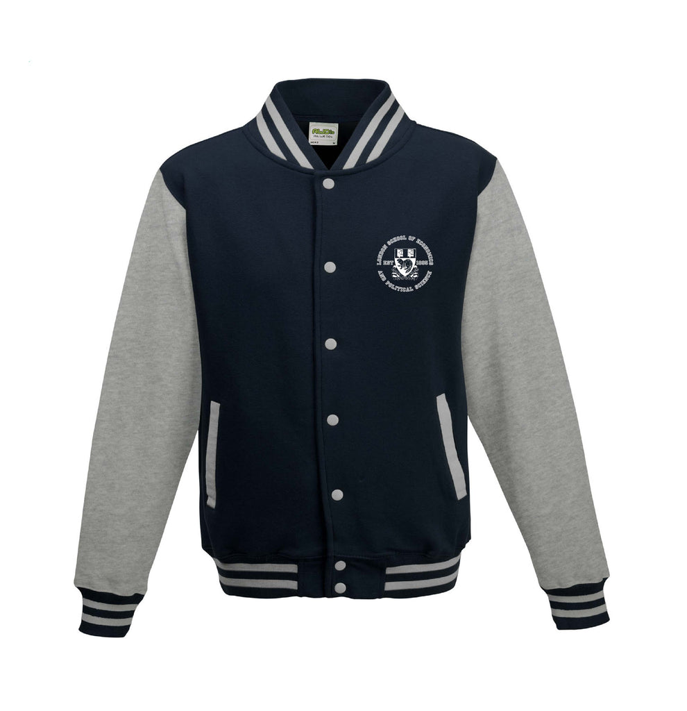 Varsity Jacket Navy/Heather