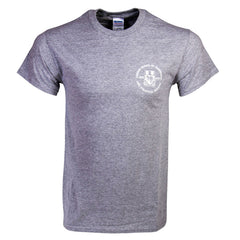 3 Pack Crested T-Shirts - White, Grey and Navy